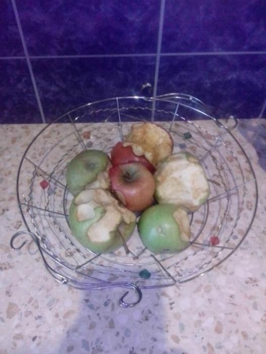 Дегустация яблок.