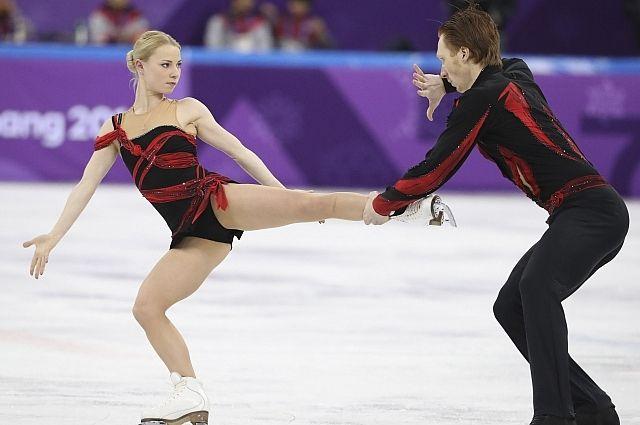 Российские фигуристы Тарасова и Морозов стали четвертыми на ОИ-2018