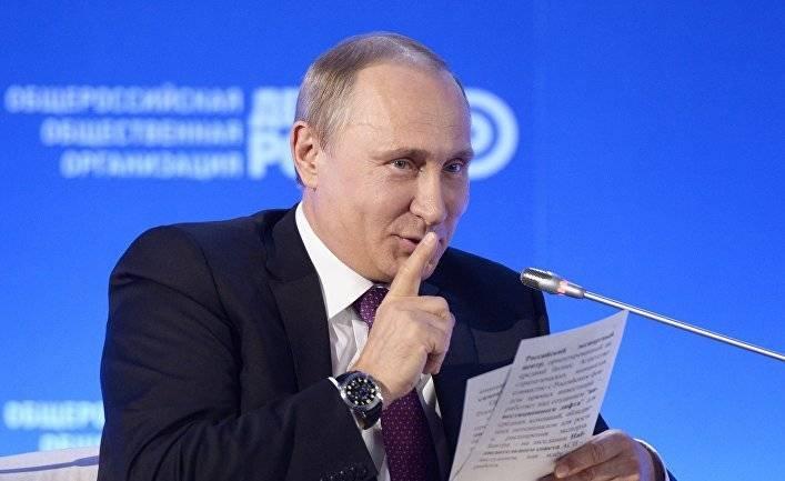 """Путин не пойдет на выборы в 2018? Пусть не надеются """"доброжелатели"""", страну в такой момент доверить другому человеку нельзя."""
