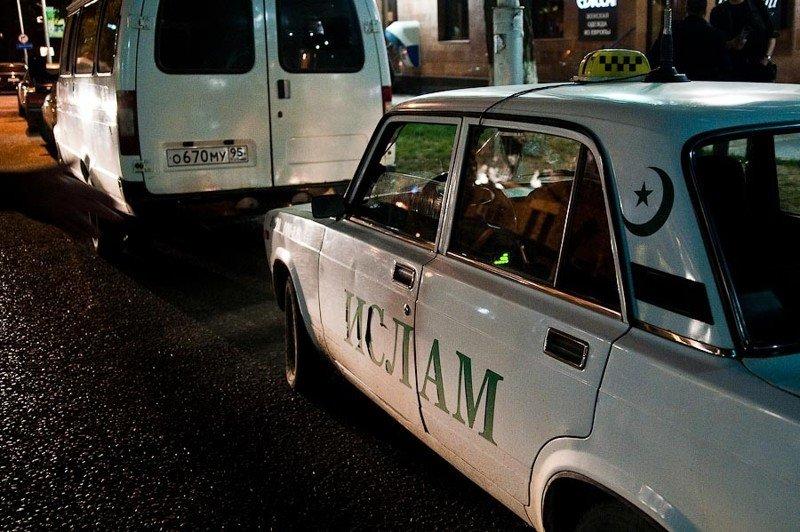 Таксист не той национальности