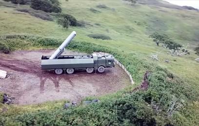 """Российские военные провели пуски крылатых ракет """"Оникс"""""""
