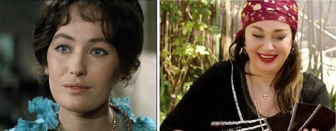 Лариса Гузеева, 58 лет «Жестокий романс» (1984) 25 лет — «Море. Горы. Керамзит» (2014) 55 лет