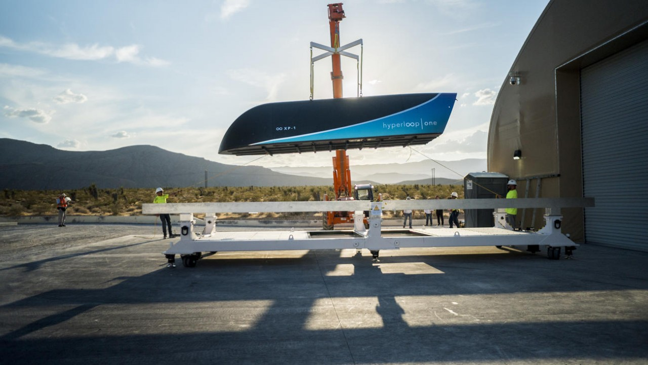 Hyperloop One провела высокоскоростные испытания транспортной системы будущего