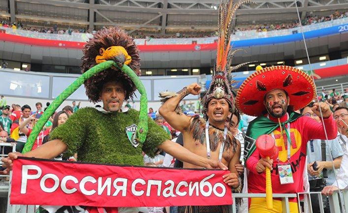 ИноСМИ: Гостей в России встр…