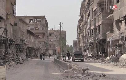 В Сирии восстанавливают транспортную инфраструктуру