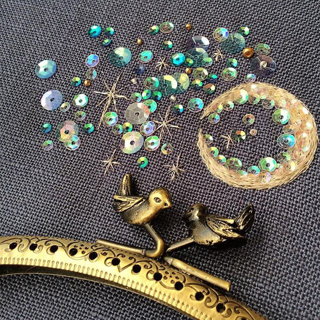 Волшебная вышивка Mayuka Morimoto Oyanagi