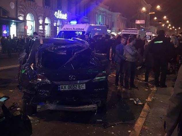 Стало известно имя виновницы наезда на пешеходов в Харькове