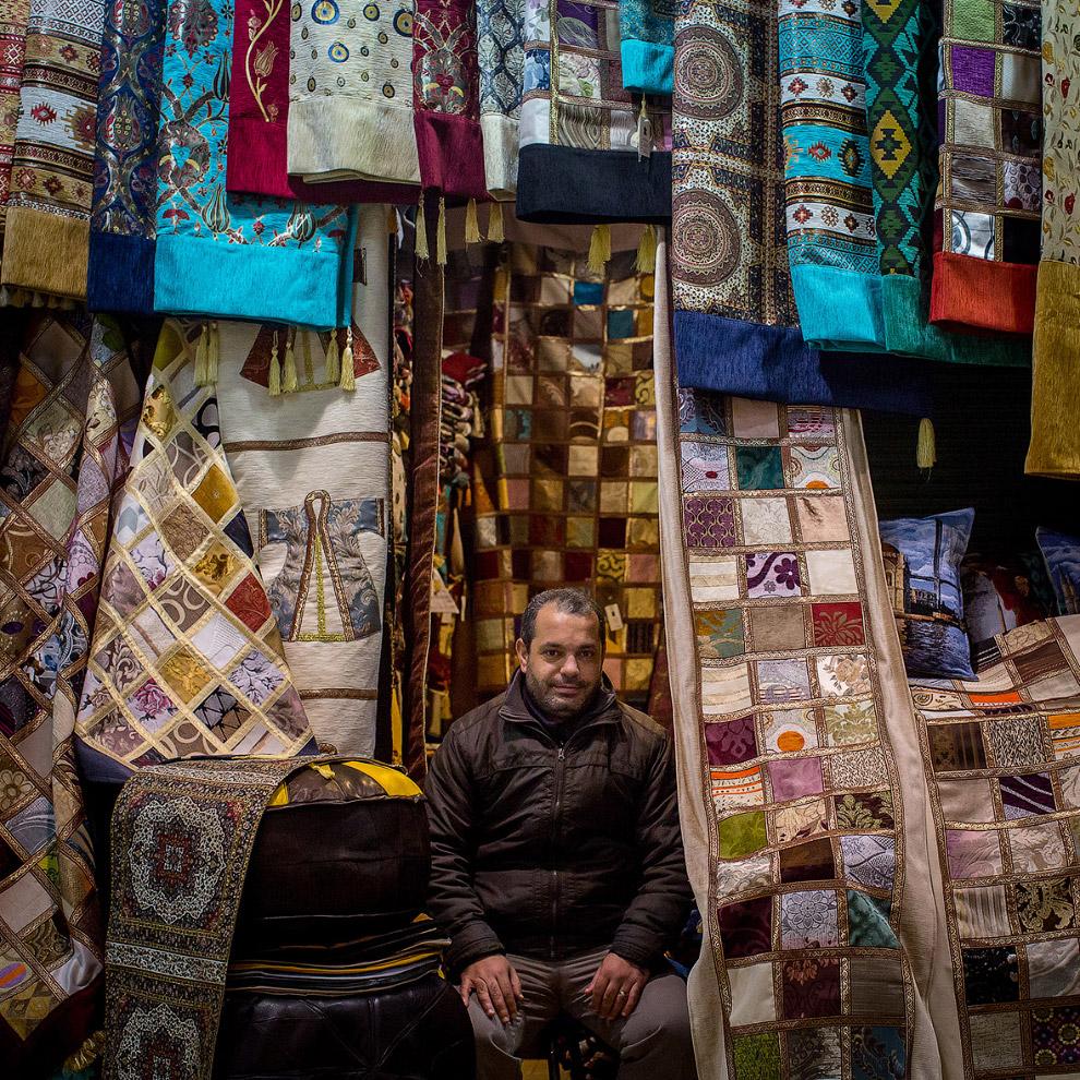 Турецкие ковры и ткани