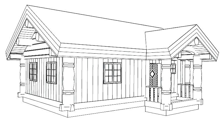 Каркасный дом Stavlaft