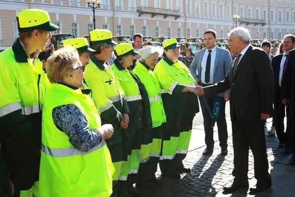 Дорожные предприятия Петербурга готовы к зимнему сезону