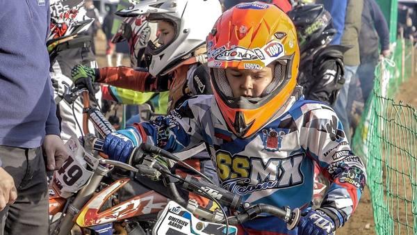 Как шестилетний петербуржец выиграл на городском первенстве по мотокроссу