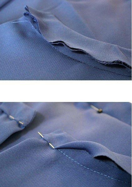 Правильный пошив воротника-стойки 5