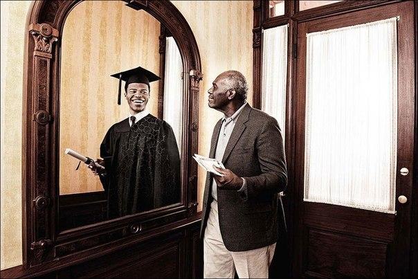 Зеркало помнит - фотопроект Tom Hussey. Трогательно... 5