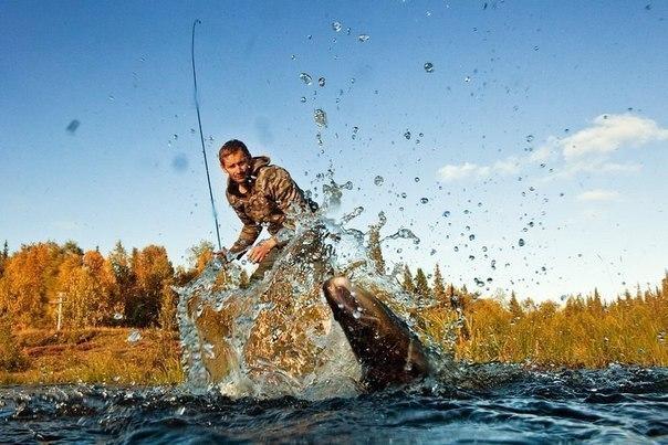 рыбалка видео вываживание