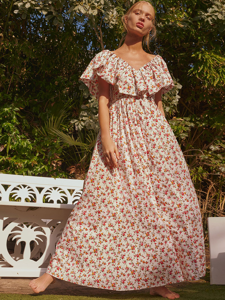 Барышня-крестьянка: 10 романтичных платьев на лето