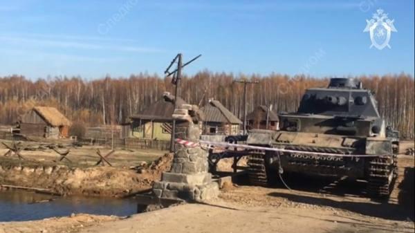Каскадера раздавило танком на съемках фильма «Ильинский рубеж»