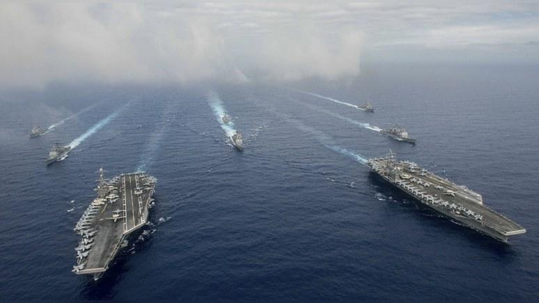 В войне на два фронта США сокрушат и Китай, и Россию