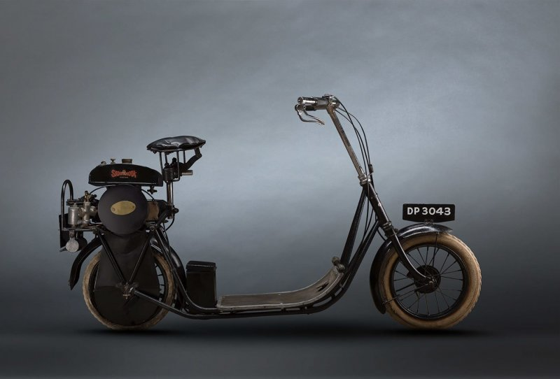 ABC Skootamota 1919 авто, автомобили, мото, мотоциклы, фото, фотограф, фотографии, фотография