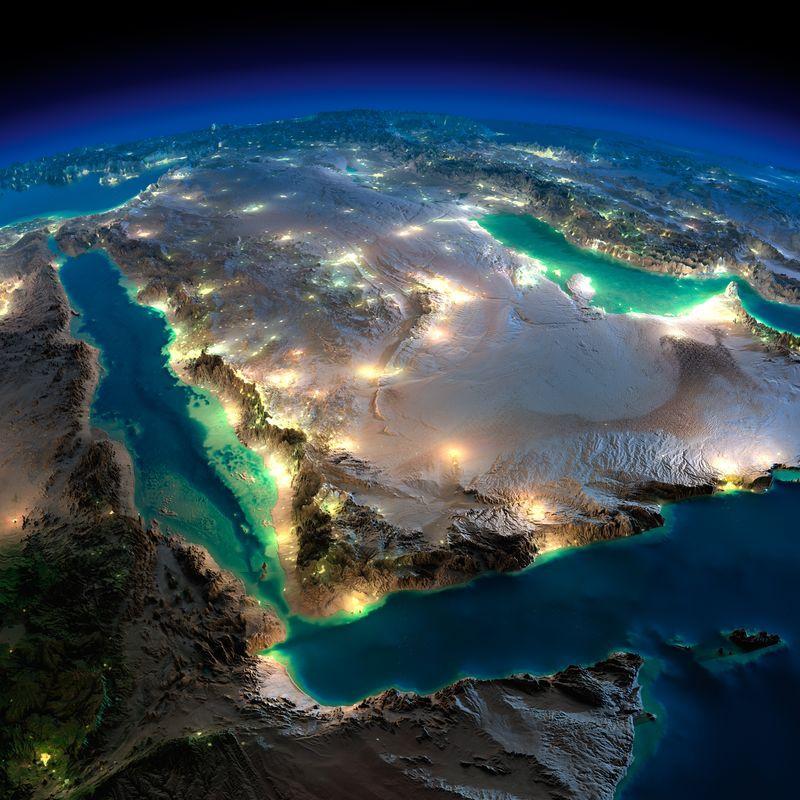 Во всех смыслах космические виды нашей прекрасной ночной планеты
