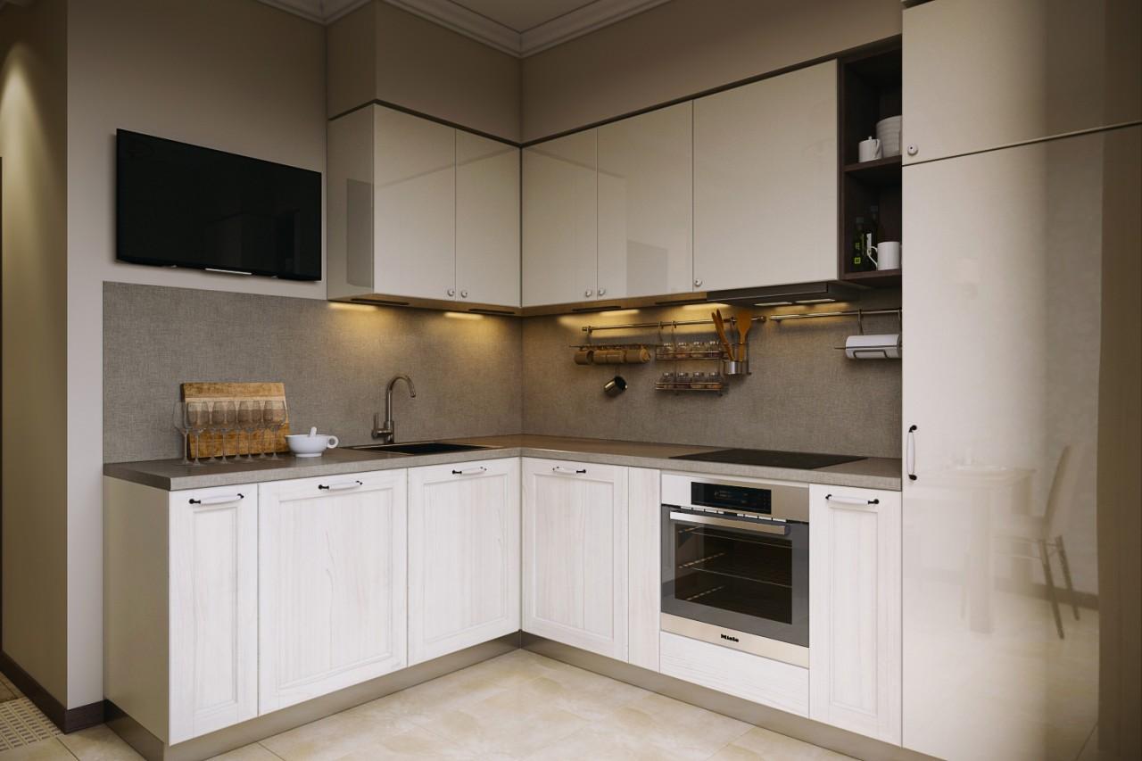 Дизайн кухни 8 кв. метров. Ф…