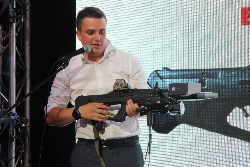 «Калашников» представил электромагнитное ружьё для уничтожения беспилотников