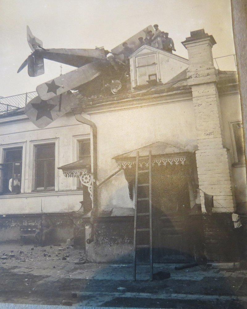 Аварийная посадка, 1920 год. 43–й Витебская авиационная эскадрилия история, люди, мир, фото