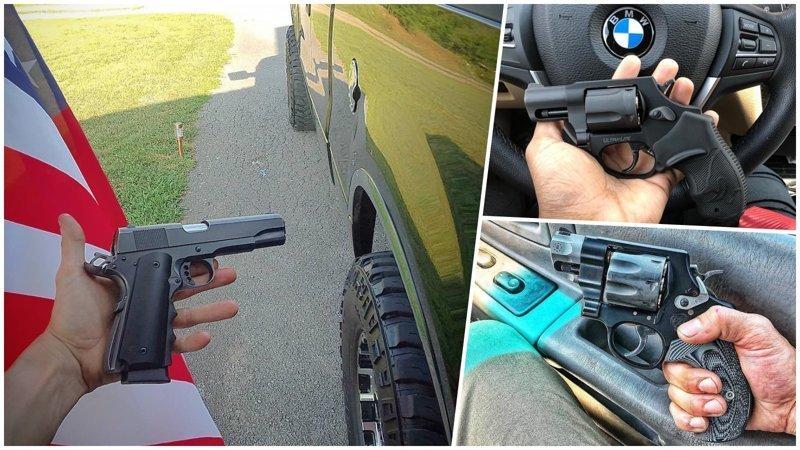 Какое оружие носят с собой американцы