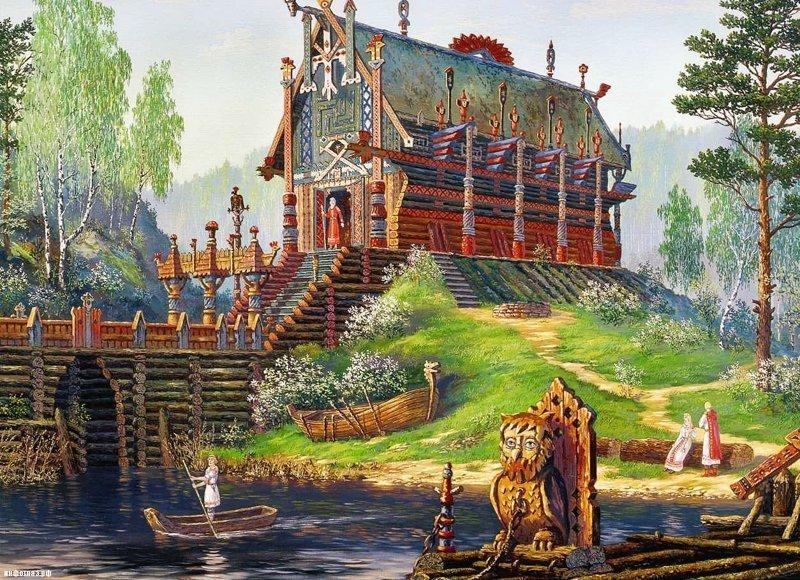 Русь до крещения Ведическая культура, история, крещение, традиции, факты