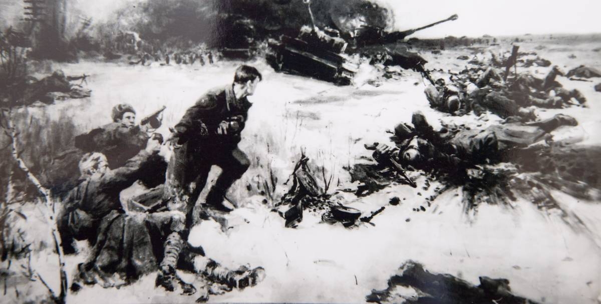 24 бойца под командованием лейтенанта Широнина совершили подвиг, вошедший в историю нашего Отечества, как ярчайший пример коллективного героизма