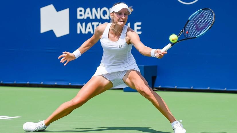 Макарова обыграла Корне и вышла в третий круг турнира WTA в Цинциннати