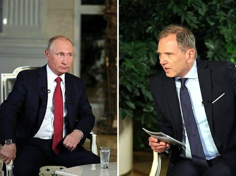 «Дайте мнесказать», — Путин…