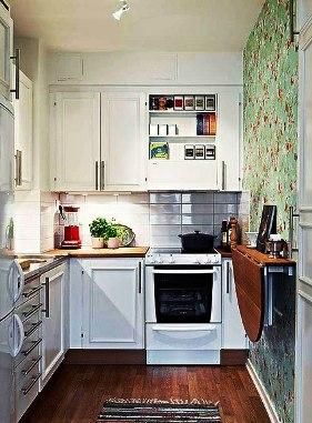 Варианты дизайна кухни в хрущевке — уют и максимальный комфорт на 6 кв.метрах