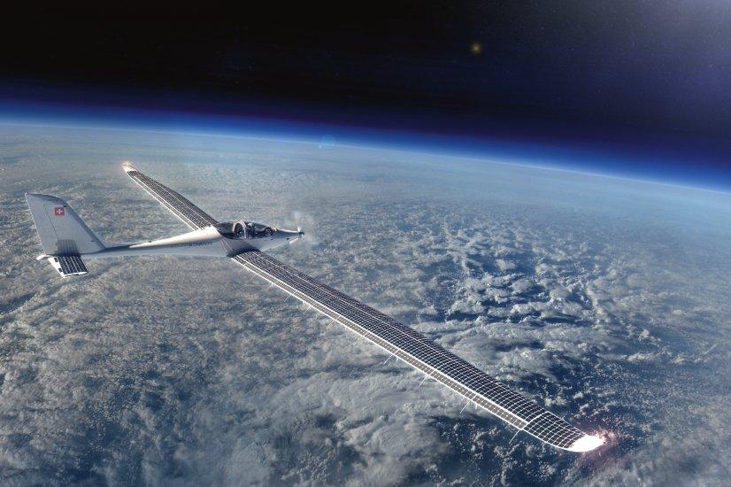 В Швейцарии впервые испытали самолет на солнечных батареях
