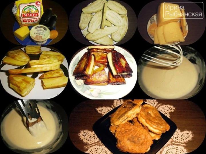 Жареные в кляре баклажаны с сыром: рецепт от потрясающей тифлисской кулинарки