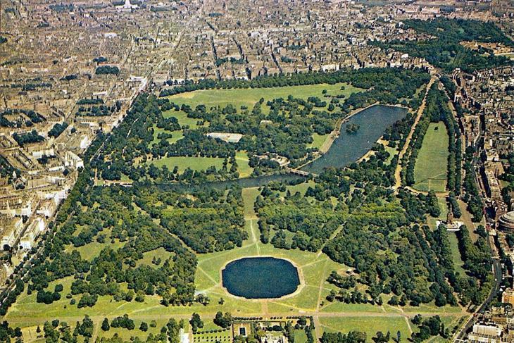 ГайдПарк. 10 Чудес Лондона. Фотографии красивых мест Лондона. Фото с сайта NewPix.ru