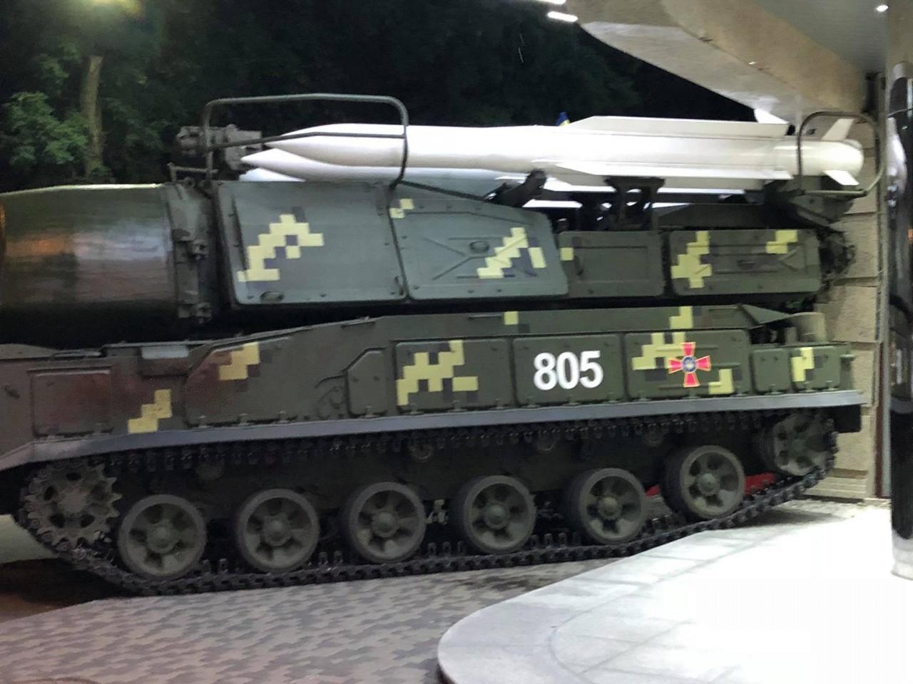 В Киеве «Бук» протаранил биз…