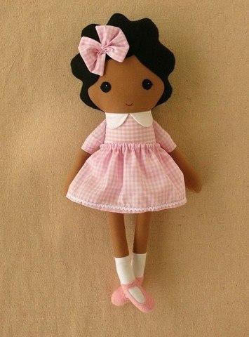 милые куколки из фетра. Выкройка