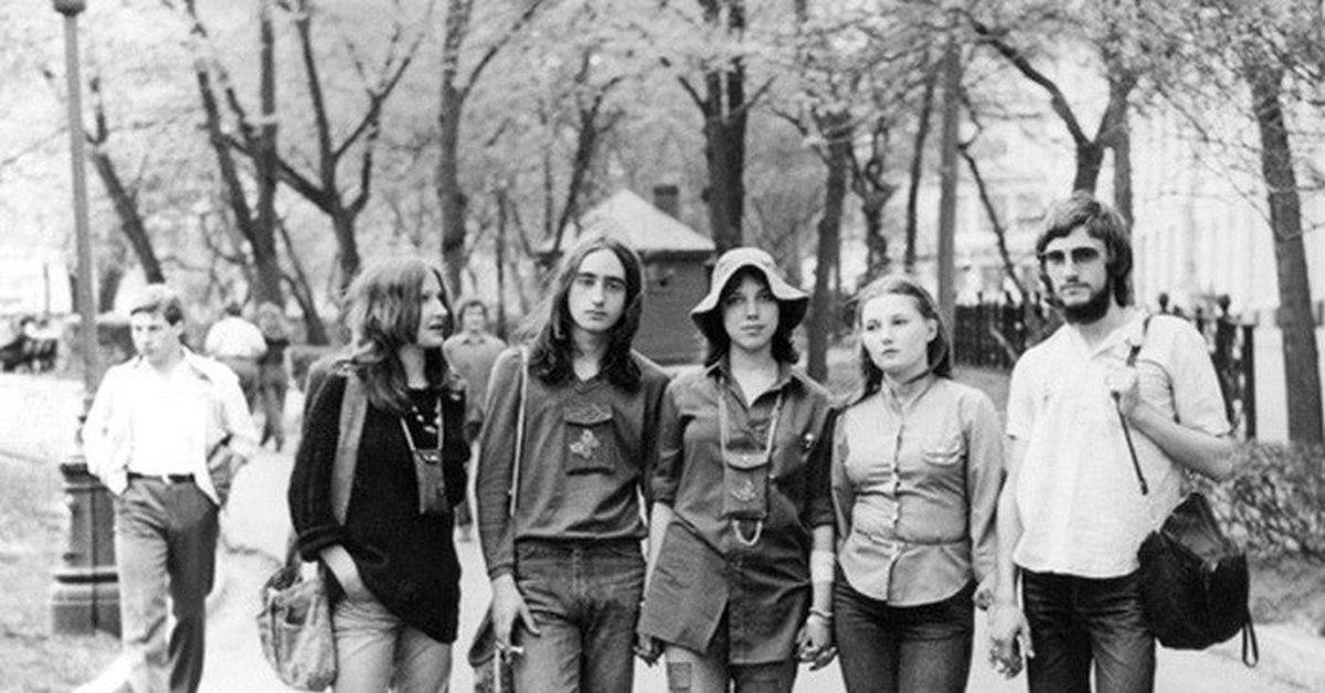 Субкультуры в СССР, как это было (фото).