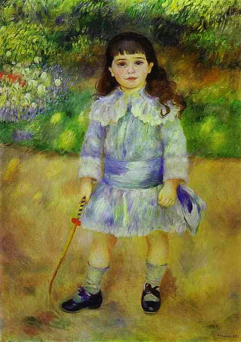 Pierre-Auguste Renoir - Child with a Whip (494x700, 113Kb)