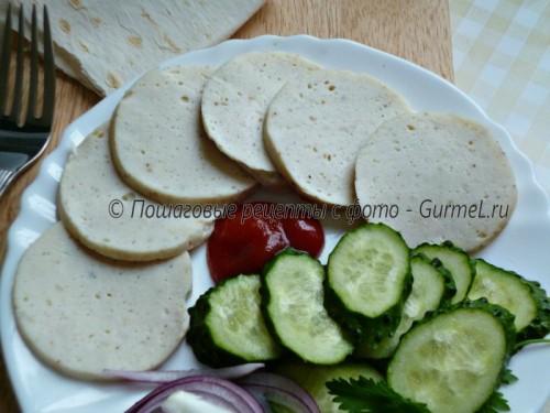 P1160791 500x375 Колбаса в кружке (домашняя, варёная)   Gurmel