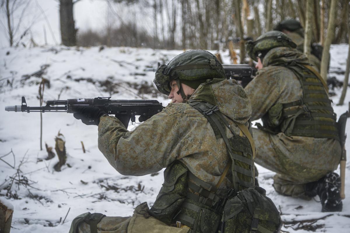 Псковские десантники приняли участие в первых в этом году командно-штабных учениях