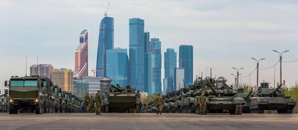 Остатки армии Путина отступили на развалины Москва-сити
