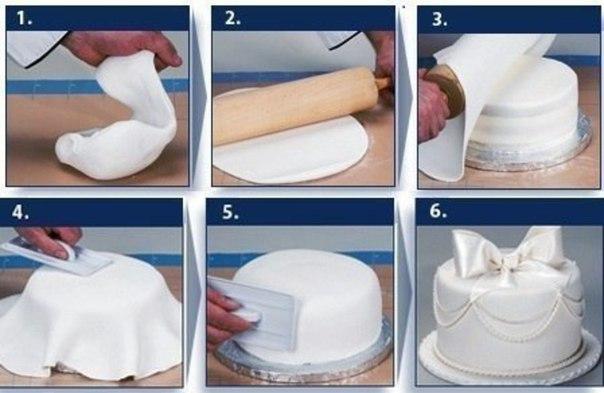 Как сделать мастику для торта - Рецепты и советы