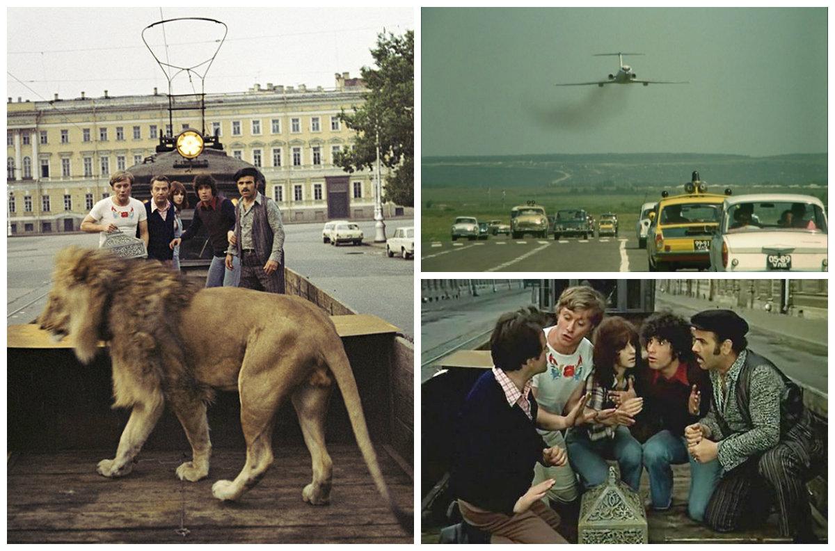 Трюки и каскадеры в советских фильмах