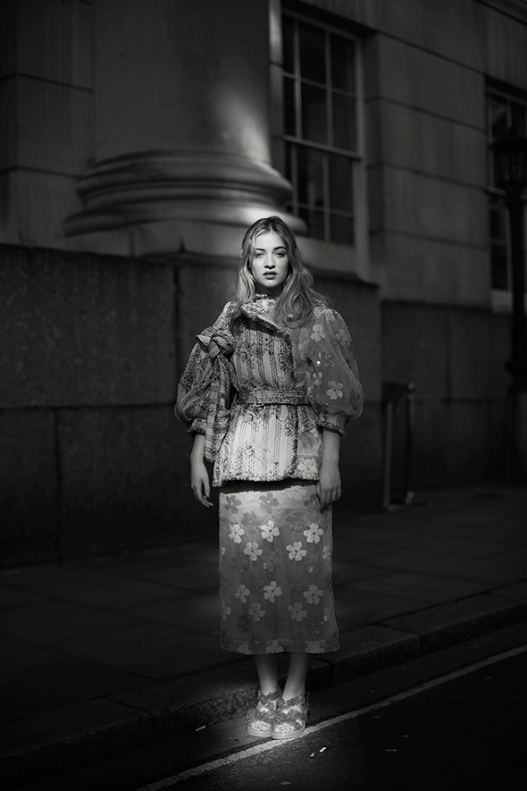On the Street…Caught in the Light, London