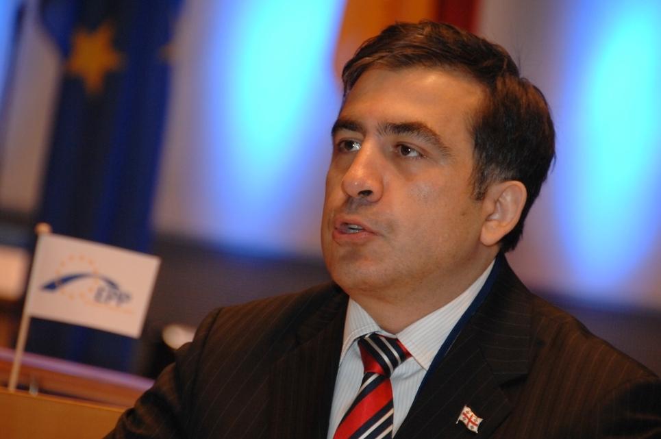 Саакашвили устроил истерику на украинском ТВ после слов о Путине..