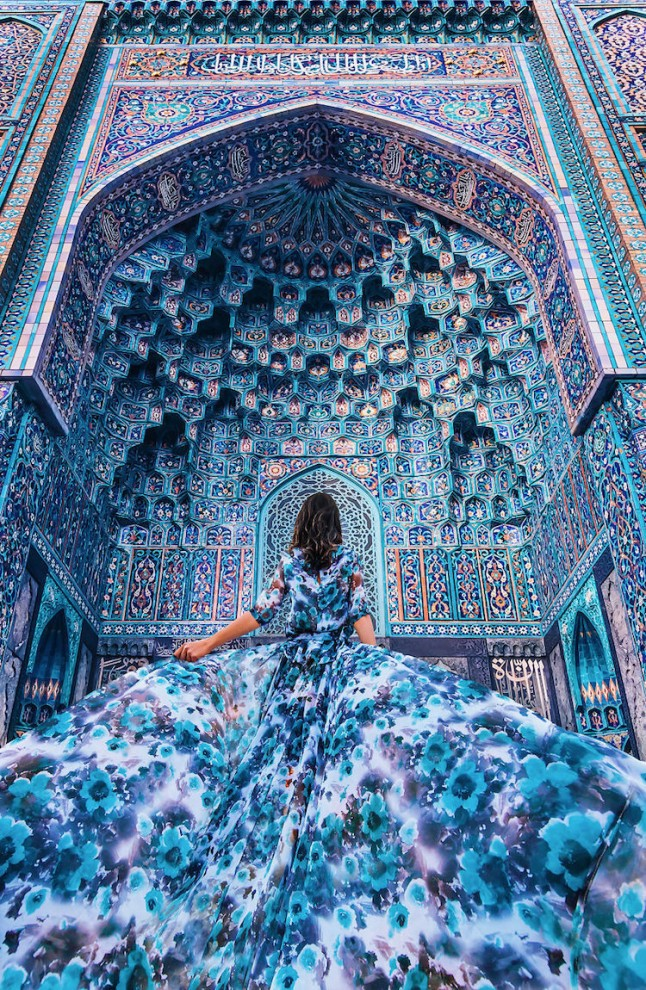 В гармонии с пространством: фэшн-фотография Кристины Макеевой