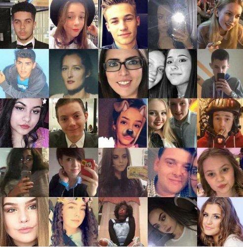 Лица погибших в теракте в Манчестере