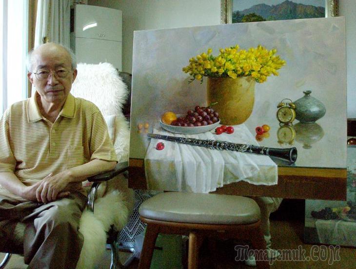 Корейская живопись. Ким Юн Сик - Kim Yun Sik (김윤식) (1933-2008). Республика Корея