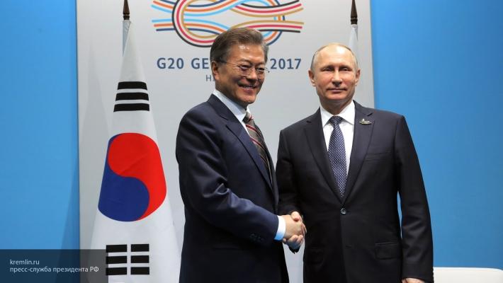 Президент Южной Кореи ответил на приглашение Путина о визите в Москву